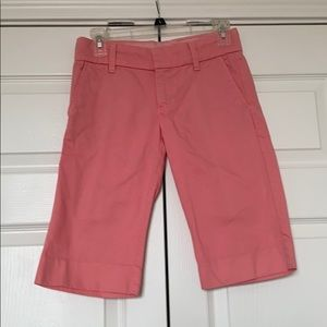 Juicy Couture Pink Bermuda Shorts